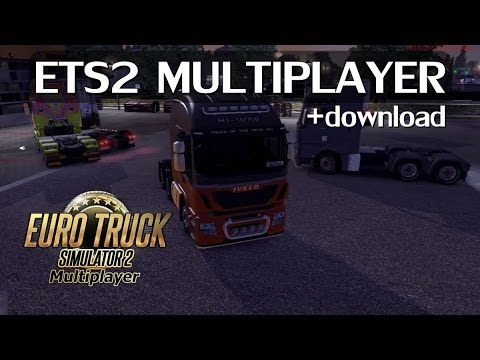 How to download euro truck simulator 2 multiplayer with product.
