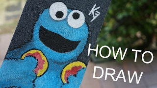 How to draw - CookieMonster