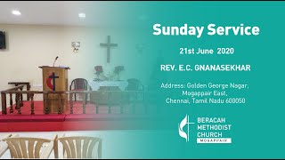 Sunday service, 21, June, 2020