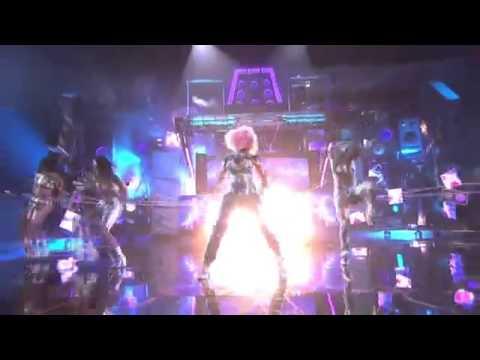 Lady gaga Ft David Guetta ft Nicki Minaj Turn Me On -live