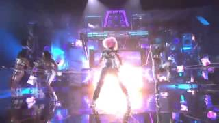 Lady gaga Ft David Guetta ft Nicki Minaj Turn Me On -live