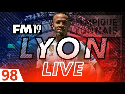 Football Manager 2019 | Lyon Live #98: Devastating Injury Blow #FM19