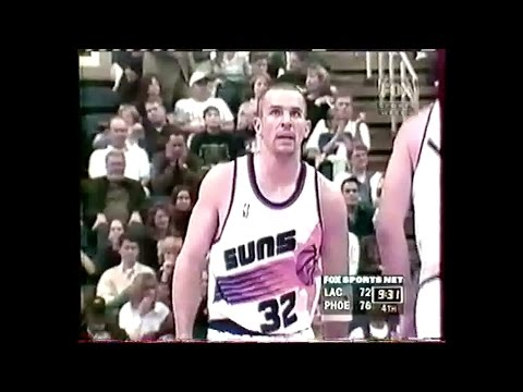 L.A Clippers @ Phoenix - J.Kidd 14 pts 16 assists, with overtime - 1999 Full Game
