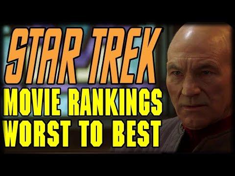 Star Trek Films Ranking List