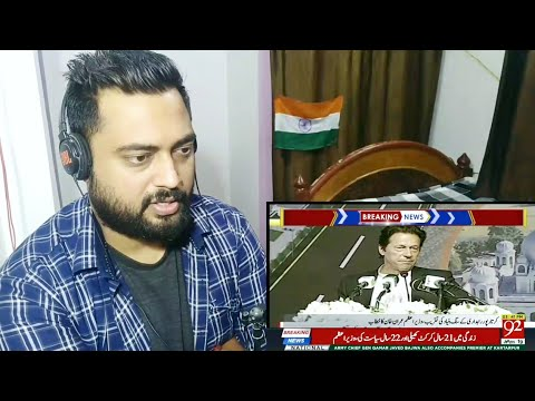 Indian Reacts to PM IMRAN KHAN speech during KARTARPUR Corridor ceremony | BY Mayank