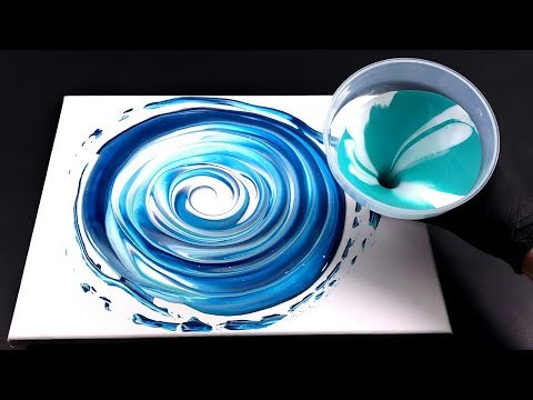 Pour Paint With Funnel -perfect For Fluid Painting Beginners!