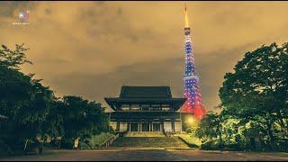 Tokyo Time Lapse 東京のタイムラプスを 4K (UHD)