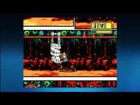 CGRundertow - COMIX ZONE for Sega Genesis / Xbox 360 Video Game Review thumbnail