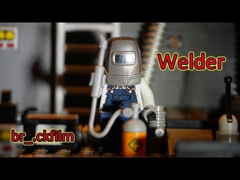 LEGO: Welder - Minifigure Series 11 - br_.ckfilm