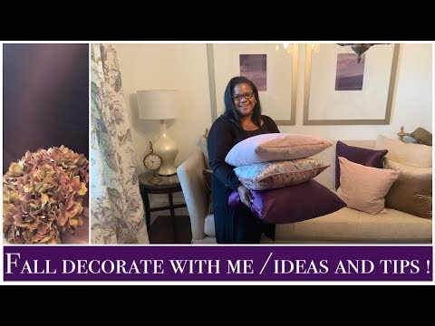 Decorate With Me Fall 2019/Fall Decorating Ideas and Tips