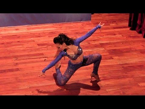 Argentina Salsa Open 2015 ~ Final Solistas Femeninas ~ Wendy Molina ~ 1ª