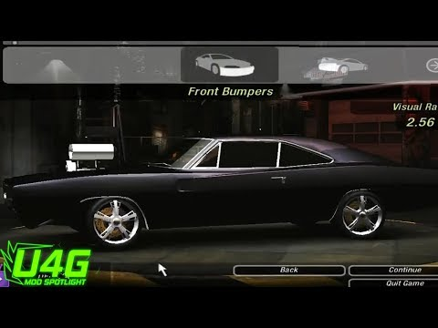 Need For Speed Underground 2 Dodge Charger R/T 69 tuning by United4Games