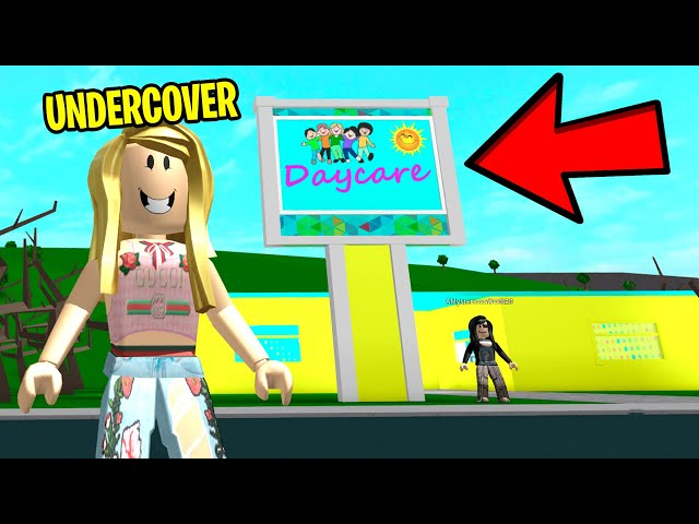 I Went To Creepy Daycare and Found The Owners SCARY SECRET.. (Roblox)