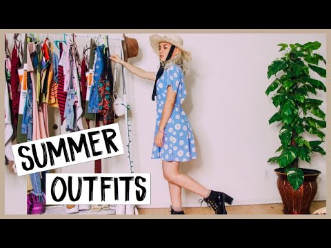 10 CASUAL & DRESSY SUMMER OUTFIT IDEAS! SUMMER LOOKBOOK 5