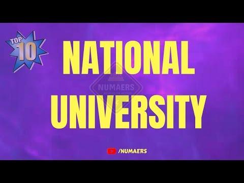 Top 10 National University in Bangladesh 2018