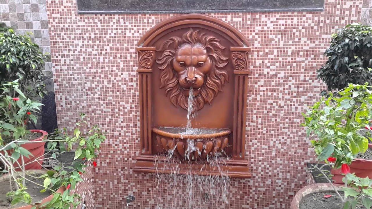 Lion Head Fountain By Aqua Garden Landscapes.   YouTube