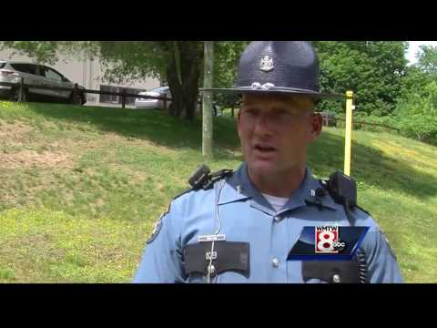 Maine State Police K9 jumps into action first day on the job