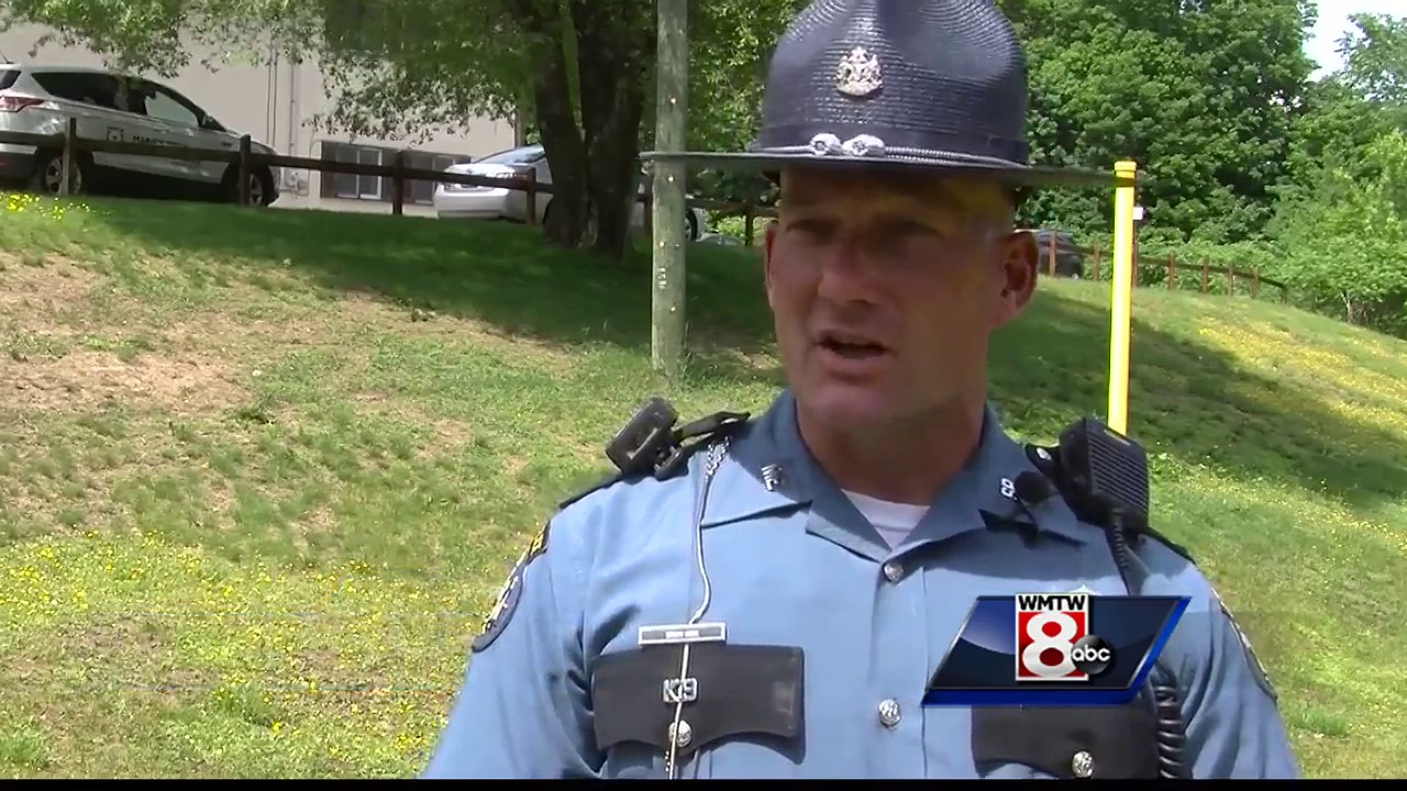 1cdc876247f Maine State Police K9 jumps into action first day on the job - YouTube