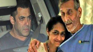 Salman Khan Visited Vinod Khanna In Hospital