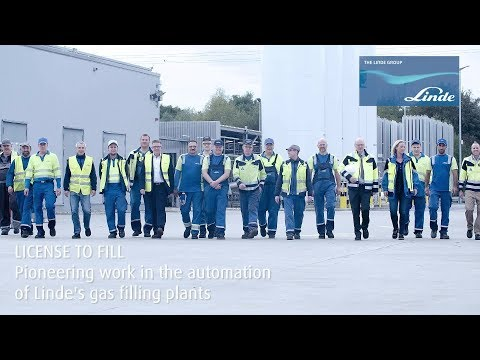 LINDE LICENCE TO FILL - Pioneering Work In The Automation Of Linde's Gas Filling Plants