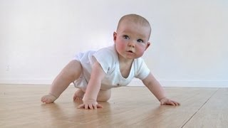 Crawling - Feldenkrais with Baby Liv