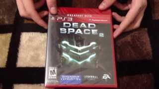 Unboxing- Dead Space 2 (Edicion greatest hits PS3) HD