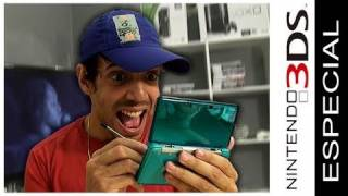 Especial Nintendo 3DS - Unboxing, demonstração, Street Fighter e Nintendogs