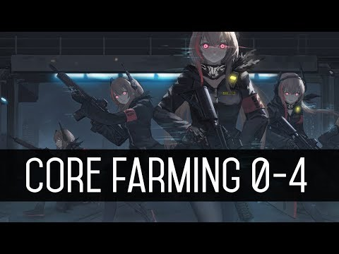 Girls' Frontline Core Farming 0-4 (Quick Guide)