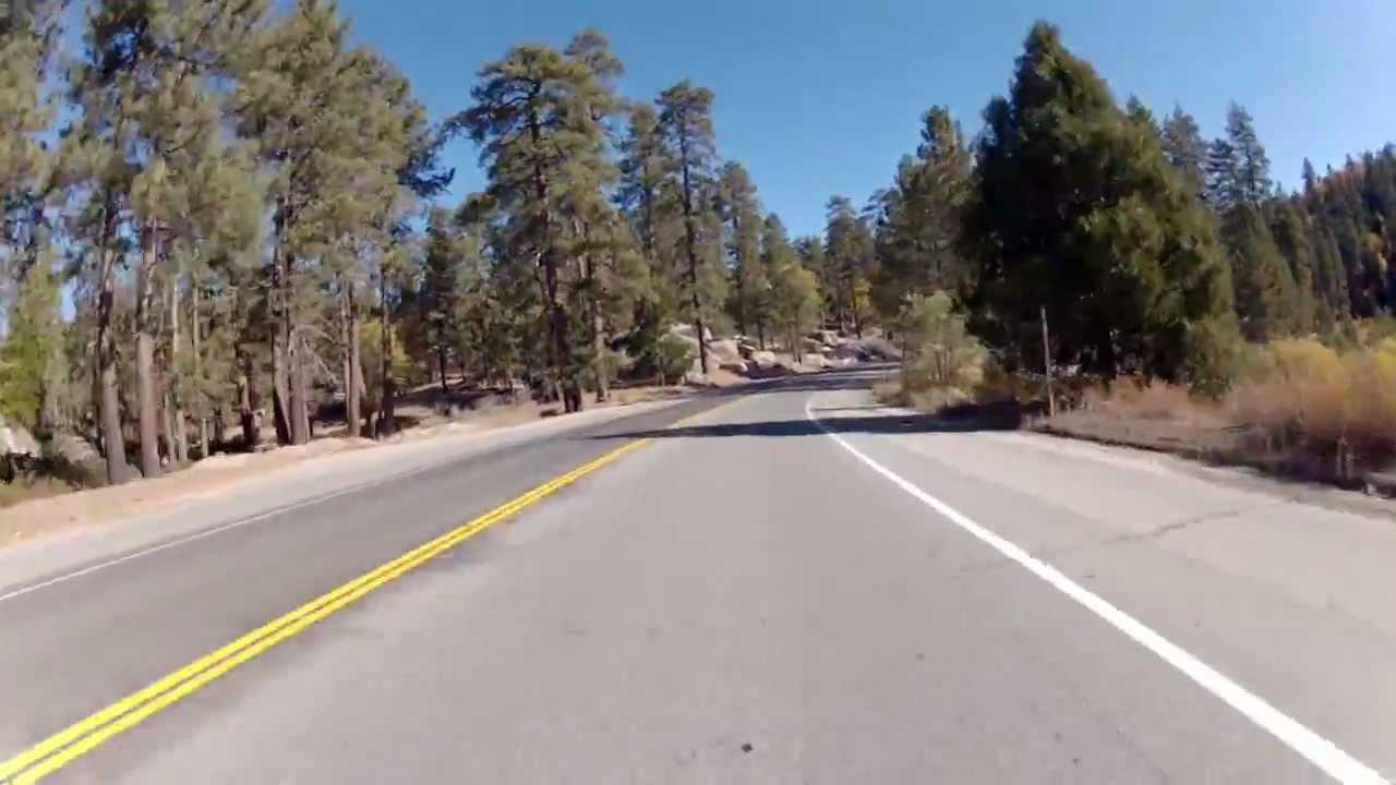Rim of World Hwy (Rt 18 Lake Arrowhead - Snow Valley) Motorcycle Ride