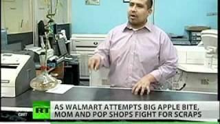 NYC war on Walmart