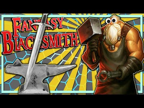 Forged The Best Sword Ever, Broke The Game (Fantasy Blacksmith Gameplay) |