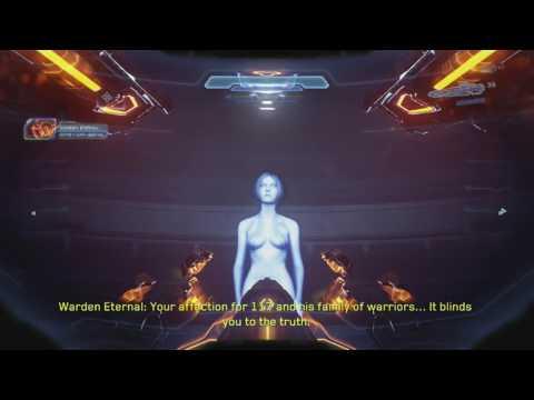 Halo 5 Naked Cortana