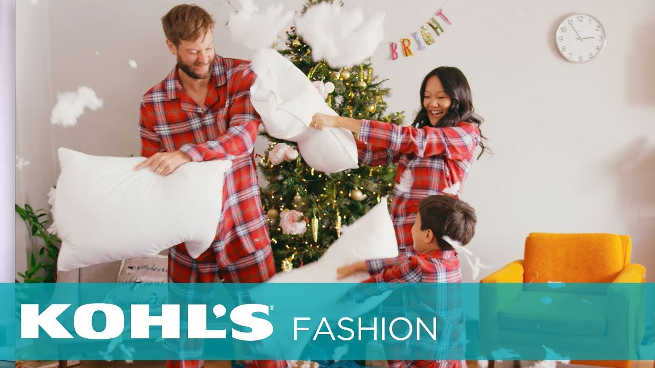 get ready for the holidays with amy tan her family their matching pajamas kohls