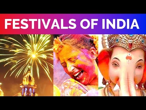 10 Famous Festivals of India - Important Indian Festivals with Dates
