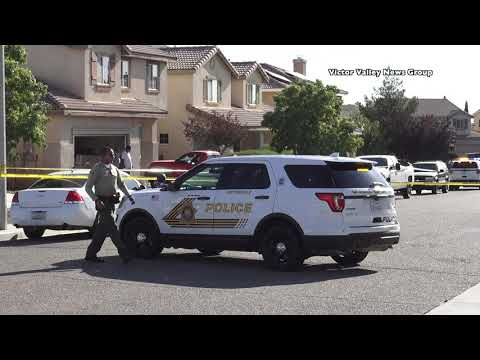 Police ID suspect who grabbed a Victorville deputies gun and