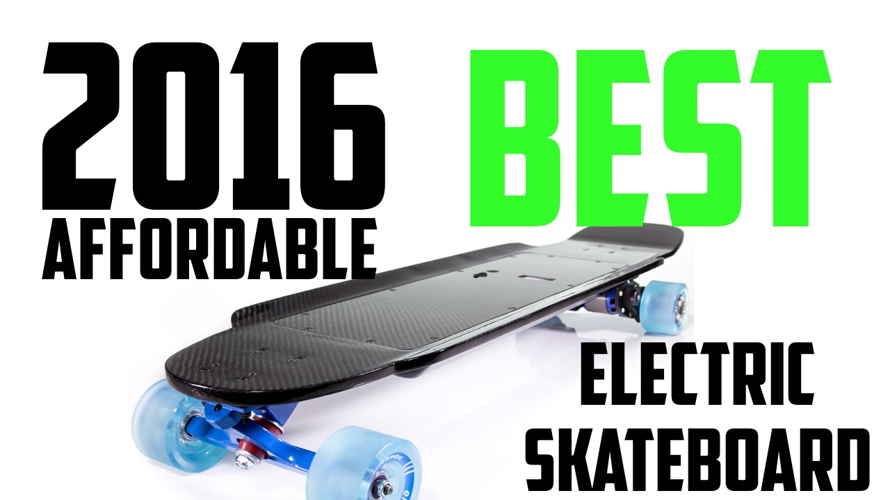 Top 5 Best Affordable Electric Skateboards 2016  YouTube