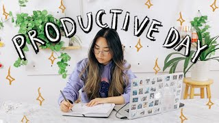 Productive Day In My Life Working From Home | JENerationDIY