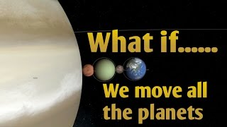 WHAT IF WE MOVE ALL THE PLANETS