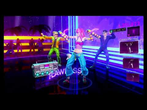 Dance Central 3- Bass Down Low (Hard) 100% Gold Gameplay