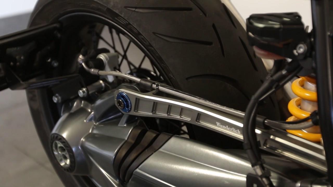 GUAIMI Paralever-Strebe Paraleverstrebe einstellbar Kompatibel mit BMW R nineT//Scrambler//5//Pure//Racer//Urban G//S R1200GS//ADV bis 2013 R1200R//RT//S//ST