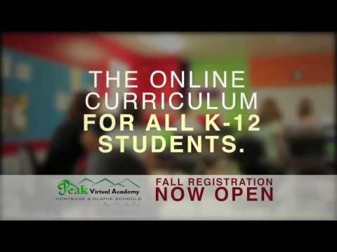 """Peak Virtual Academy """"Fall Enrollment 2013"""""""