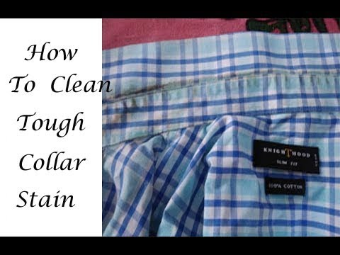 How to Clean tough stains on collar, How to clean shirts,How to clean clothes