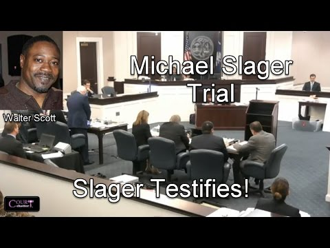 Michael Slager Trial Day 15 Part 1 Slager Testifies *SEE NOTE* 11/29/16