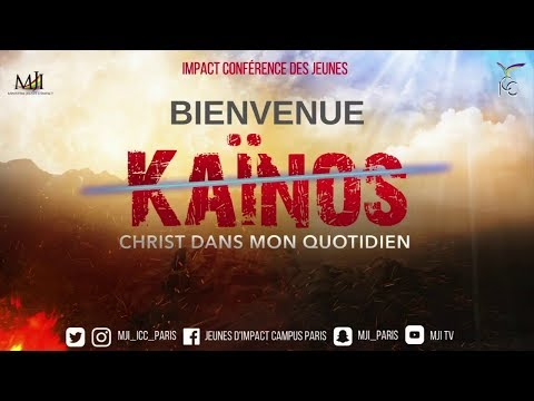 Kaïnos 2018 - Jour 2 - Pasteur Marcello TUNASI