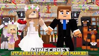 LITTLE KELLY & LITTLE DONNY'S WEDDING DAY!!! - Minecraft Little Club Adventures