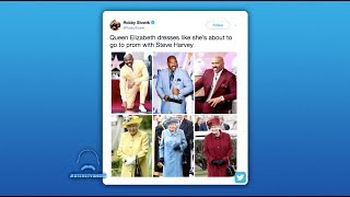 The Queen Is Stealing Steve's Style