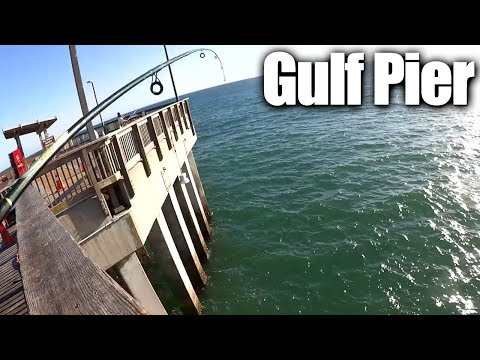 Pier Fishing For Beginners - Easy Fishing At The Gulf State Park Pier