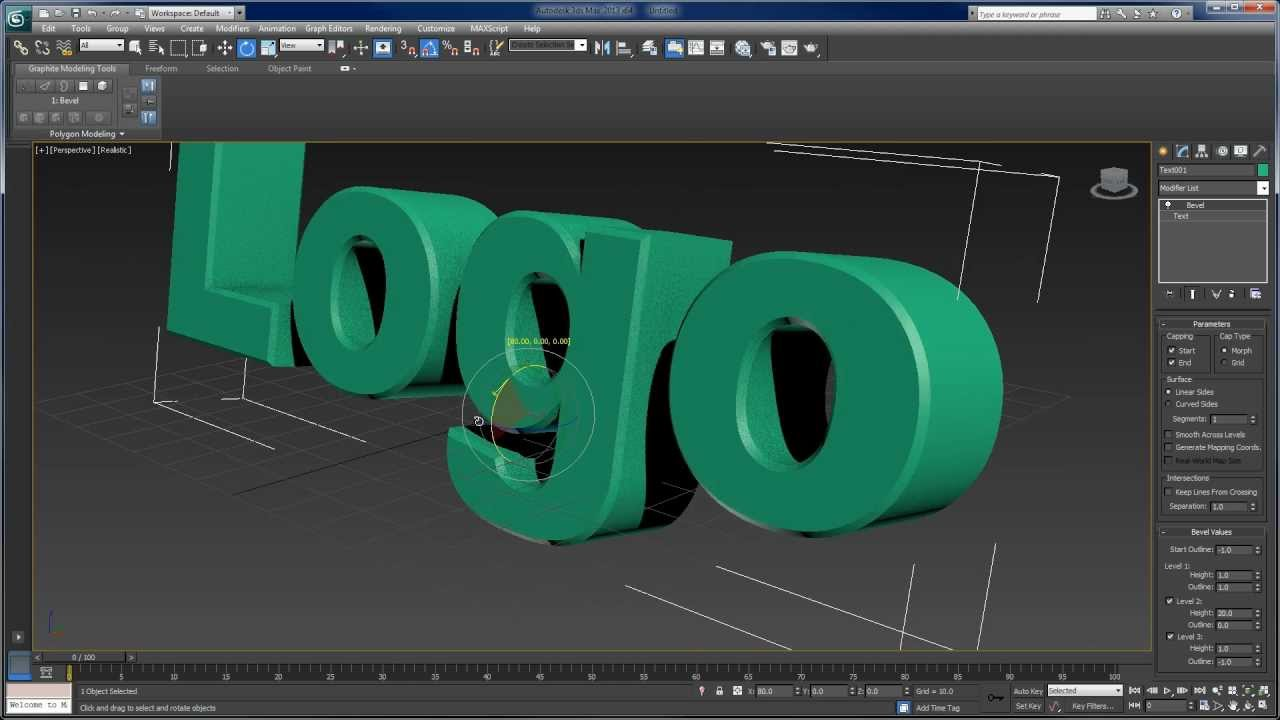 Create Your Own 3D Text Logo Animation