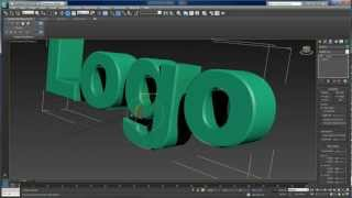 3D-Text-Animation mit 3ds max