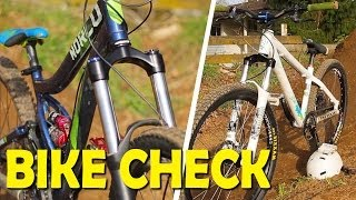 Boostmaster Bike Check - Freeride and Dirt Jump bikes!